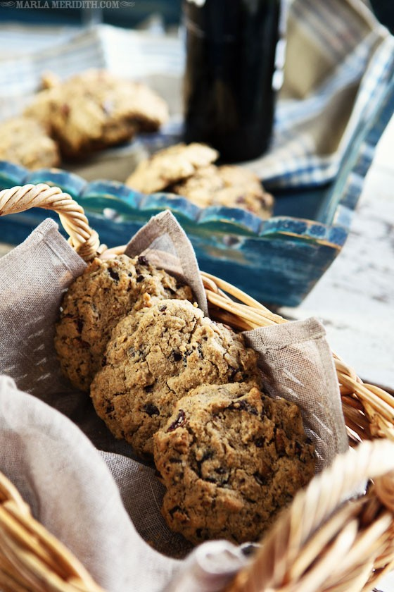 Gluten-Free Oatmeal, Chocolate Chunk & Cranberry Pecan Cookies