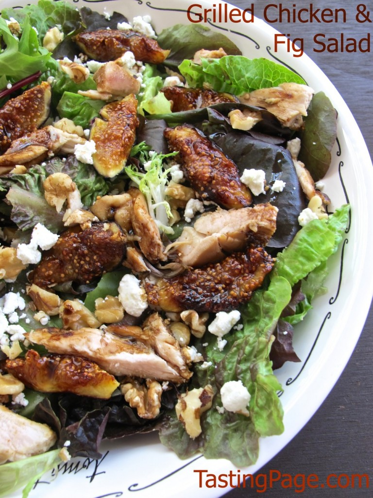 Grilled Chicken and Fig Salad