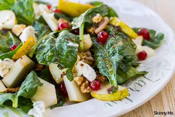 Harvest Salad with Maple Walnut Vinaigrette