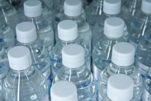 plastic bottled water
