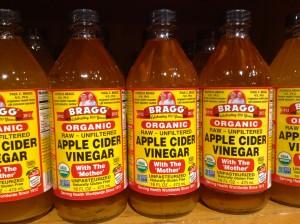 apple cider vinegar bottles