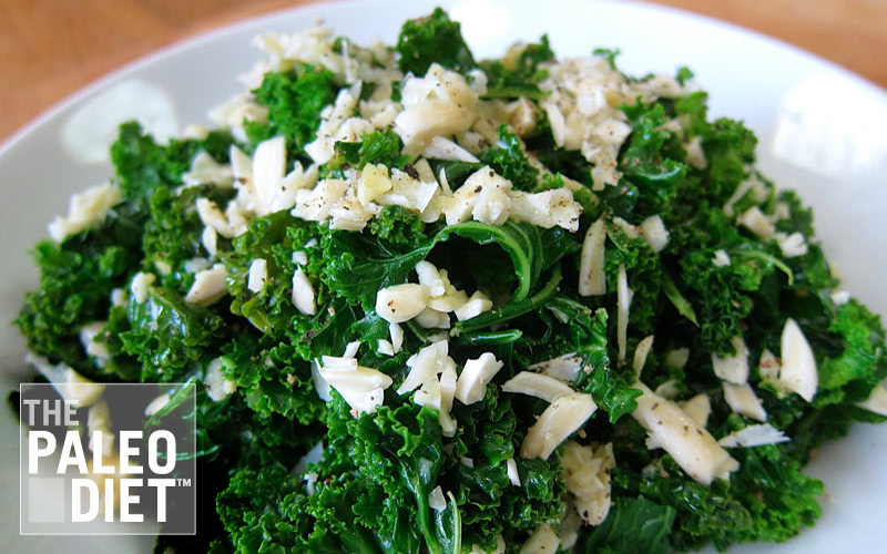Almond Like Kale Salad