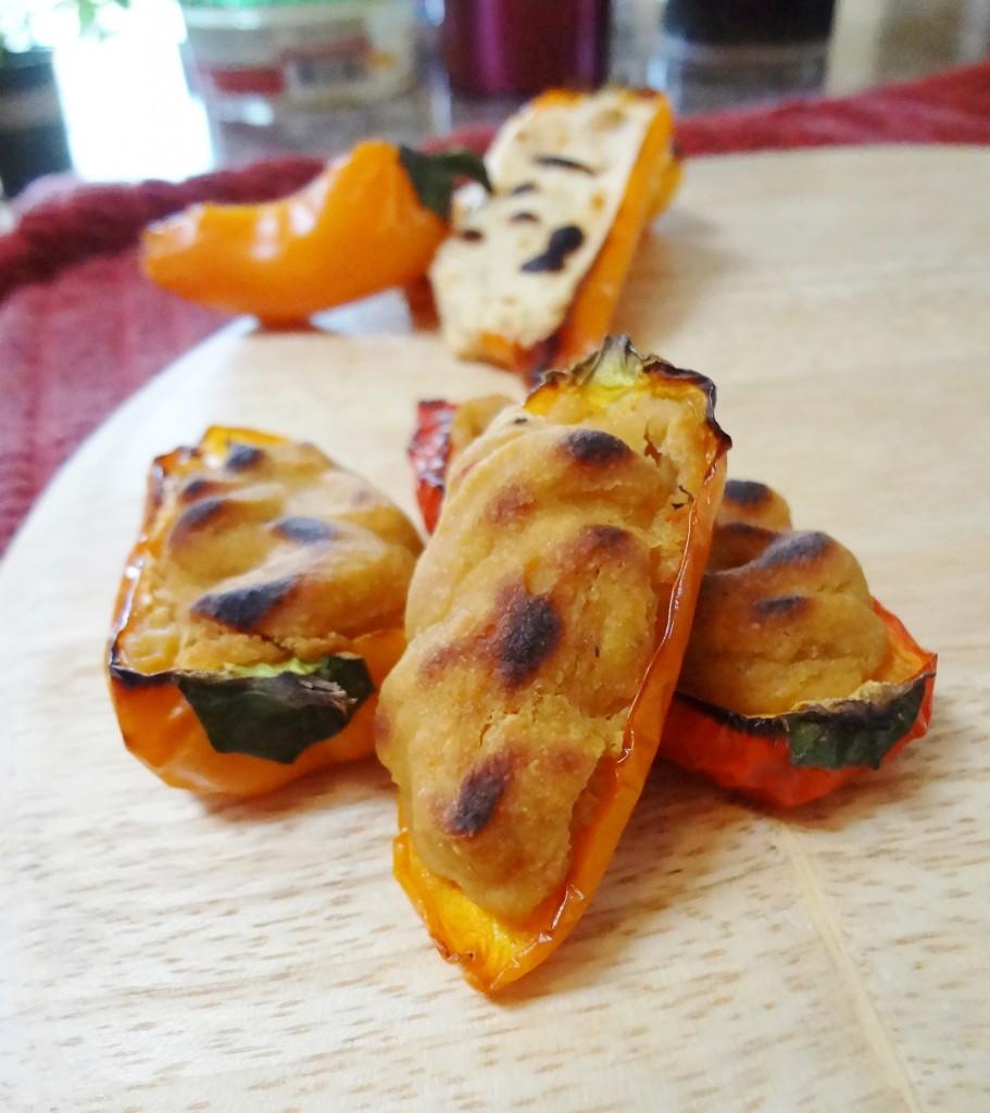 Stuffed Baby Sweet Peppers – 2 Ways