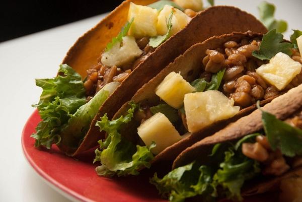 Hawaiian Bbq Tacos