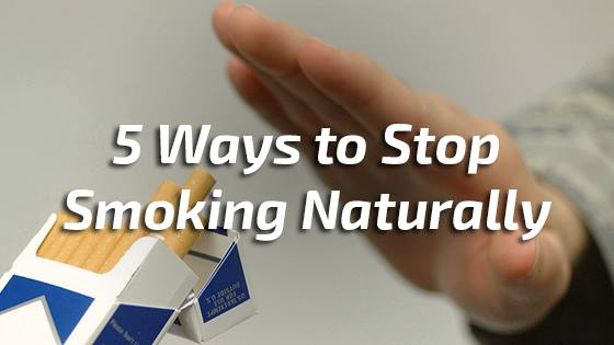 5 Ways to Stop Smoking Naturally